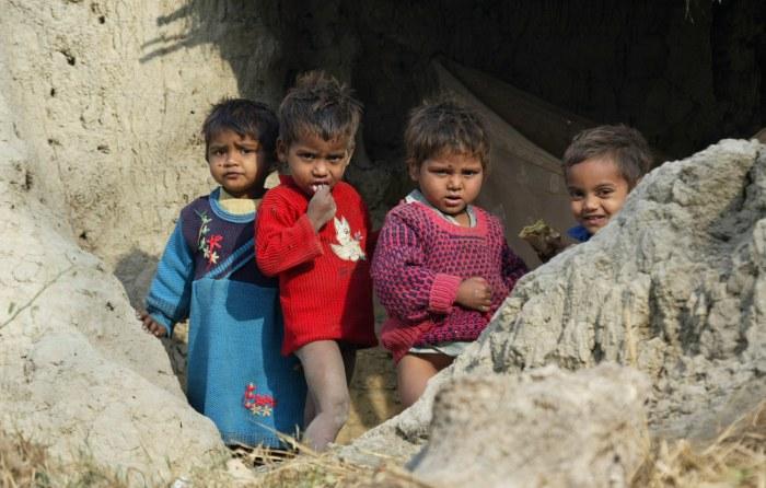 Дети далитов./Фото: www.ilsecoloxix.it